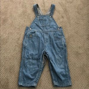 Baby Gap Lined Overalls